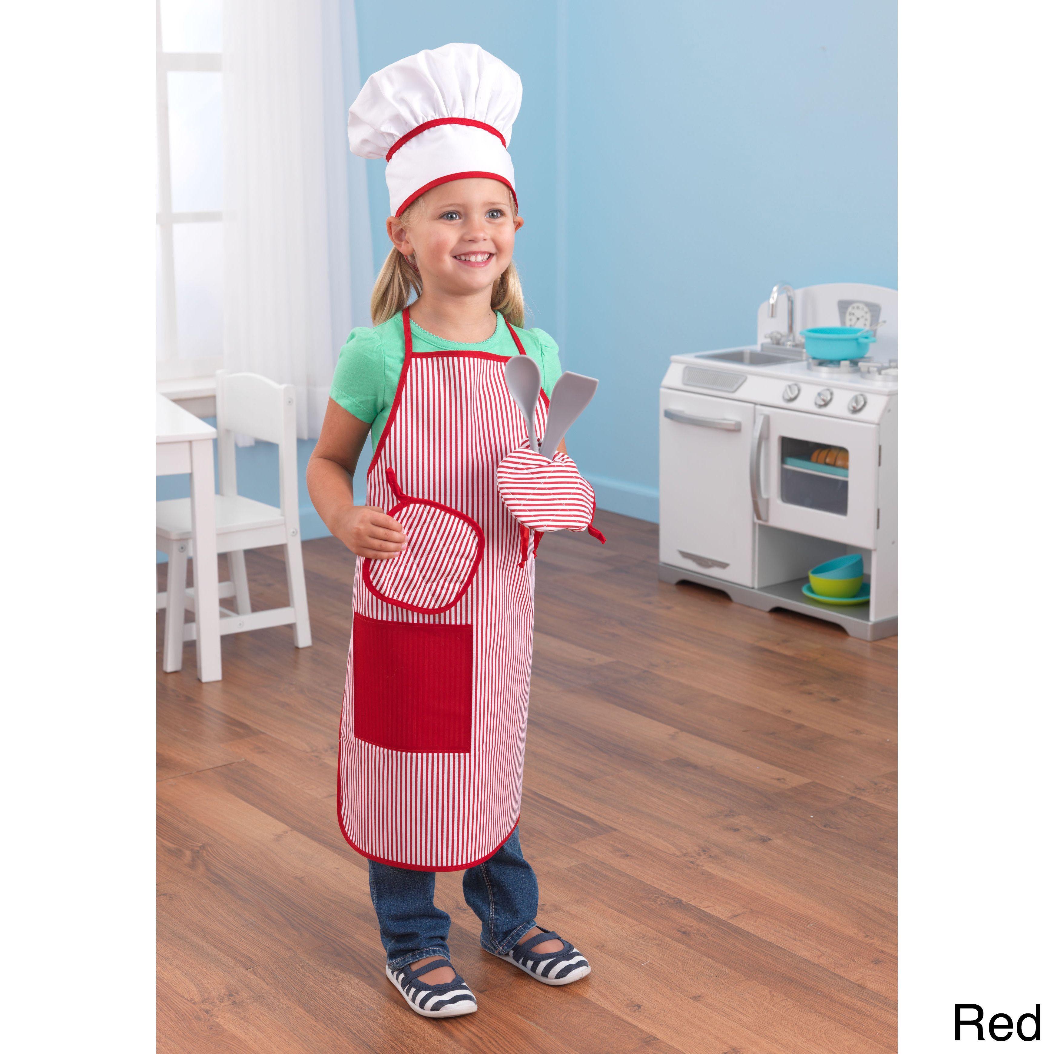 KidKraft Tasty Treats Chef Accessory Set Pink  Tasty Hobby shop