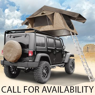Apparel - Smittybilt - SB 2783 - Smittybilt Overlander Tent and other Jeep Wrangler Parts Jeep Accessories and Soft Tops by FORTEC & Smittybilt® Overlander Tent | Mod ideas | Pinterest | Tents Jeeps ...
