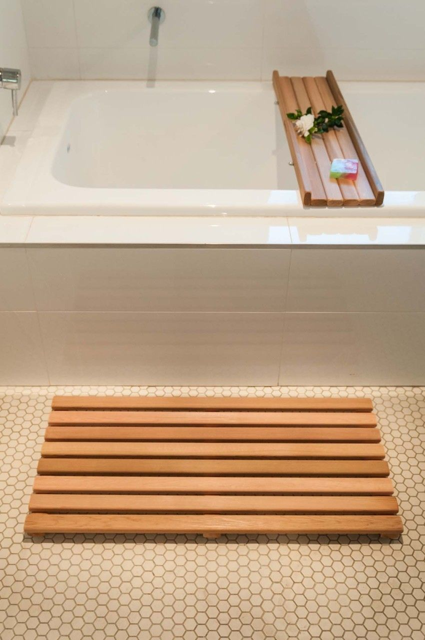 Luxurious Teak For Your Shower Teak Shower Shower Bench Teak