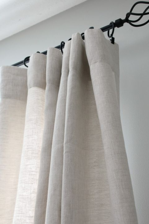 How to Hang Curtains and Drapes   living room   Hanging ...