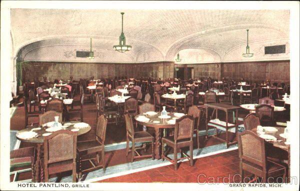 Hotel Pantlind Grille Grand Rapids Hotel Grilles