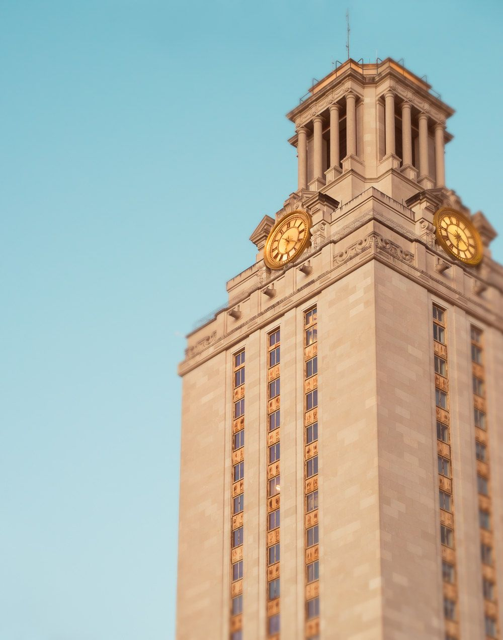University Of Texas Fine Art Photography Ut Tower College Student