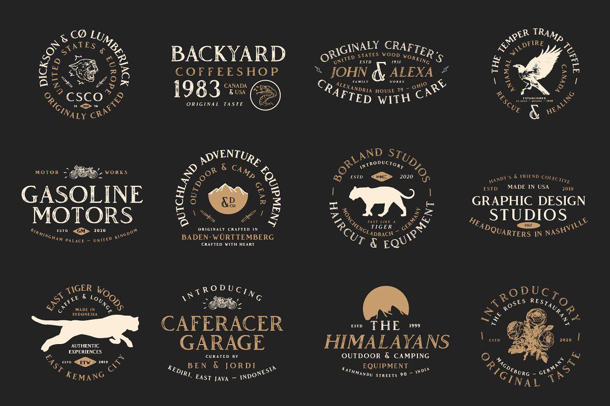 Vendeur Vintage Font Family Extras In 2020 Vintage Fonts Font Family Retro Font