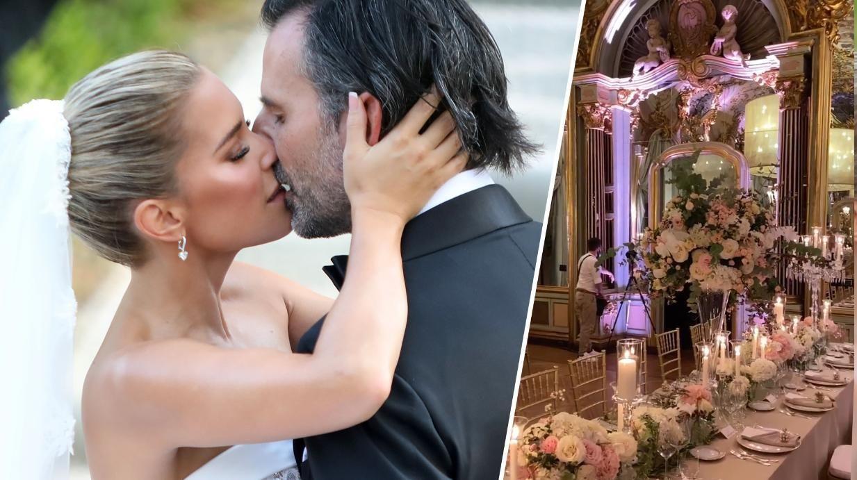Sylvie Meis Zeigt Erste Hochzeitsbilder Hochzeitsoutfit Sylvie Meis Hochzeit Bilder