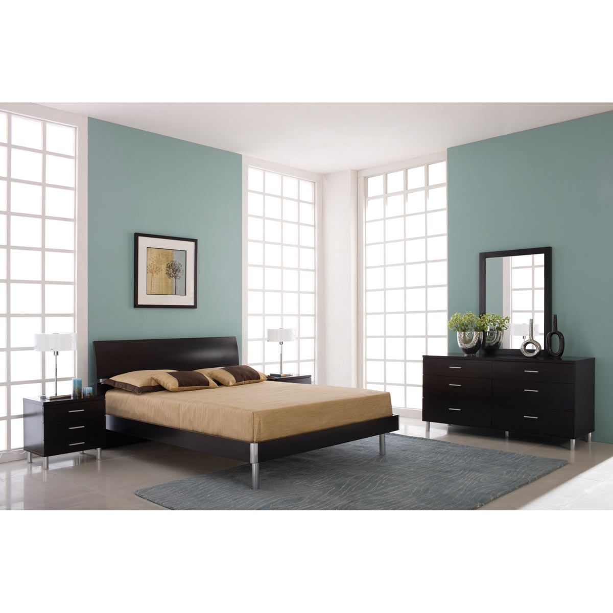 Kinwai 4 Piece King Bedroom Set