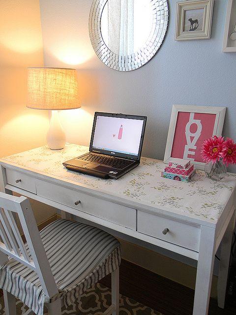 Dscn3179 In 2019 Contact Paper Fabric Ideas Desk Redo Home