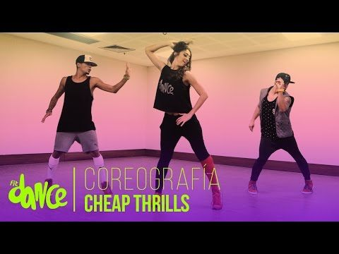 Cheap thrills sia coreografía fitdance life youtube.