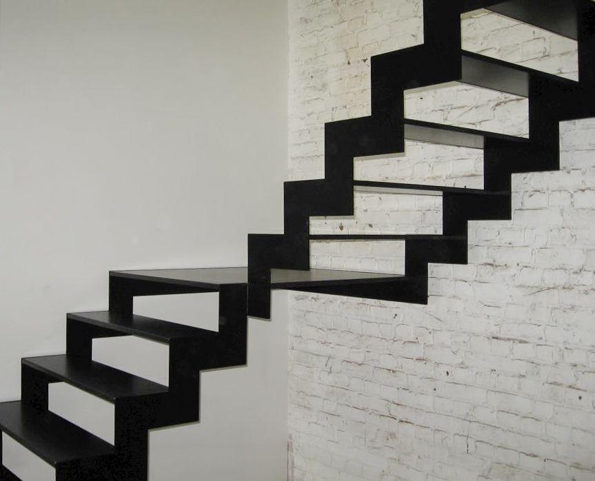 Open stalen trap van genico metalen trappen pinterest van - Moderne trapmodel ...