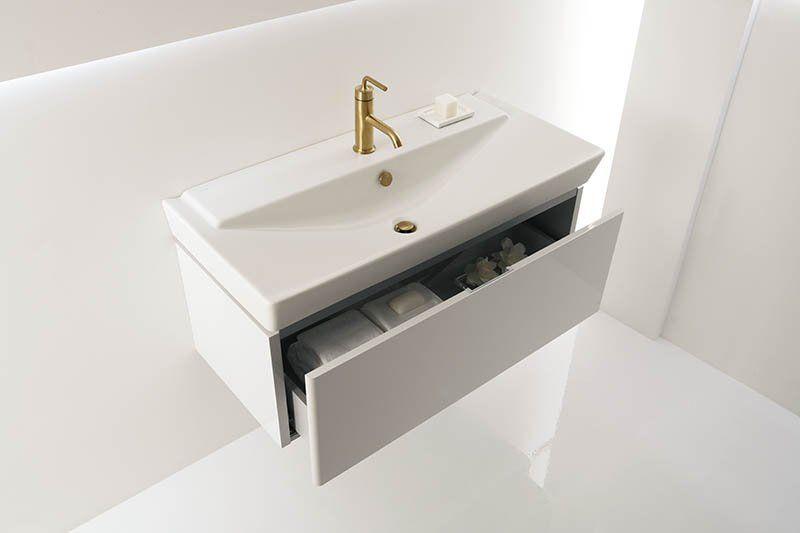 Kohler K 5026 1 0 White Reve 39 3 8 Fireclay Drop In Bathroom