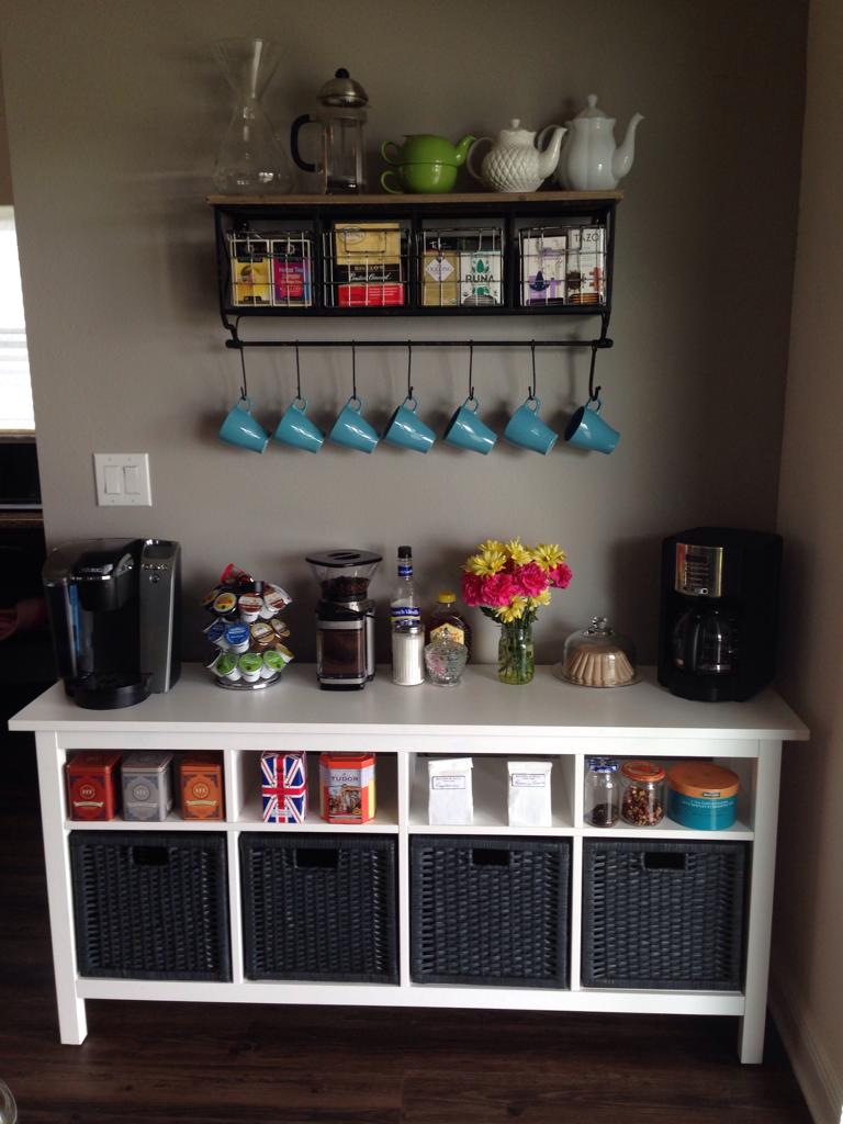 Ikea Kitchen Cart Coffee Bar