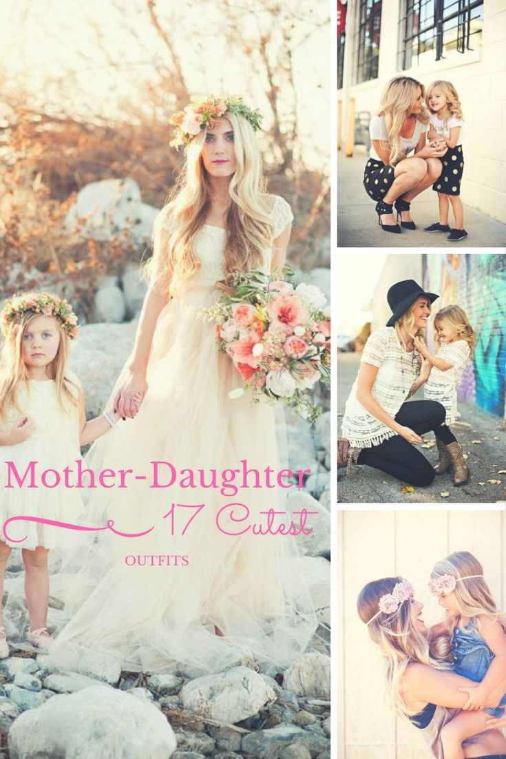 17 cutest mother daughter outfits fashion and beauty for the 17 cutest mother daughter outfits girls bridesmaid dressesgirls ombrellifo Image collections