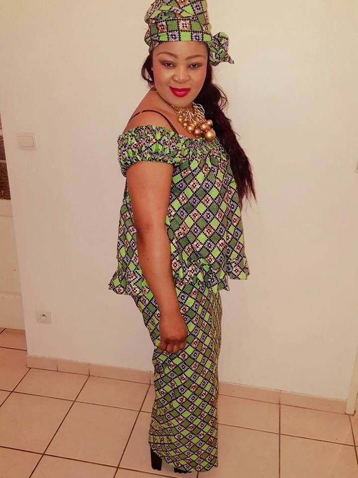 FROM DRC | Tenue africaine, Robe en pagne africain, Pagne africain