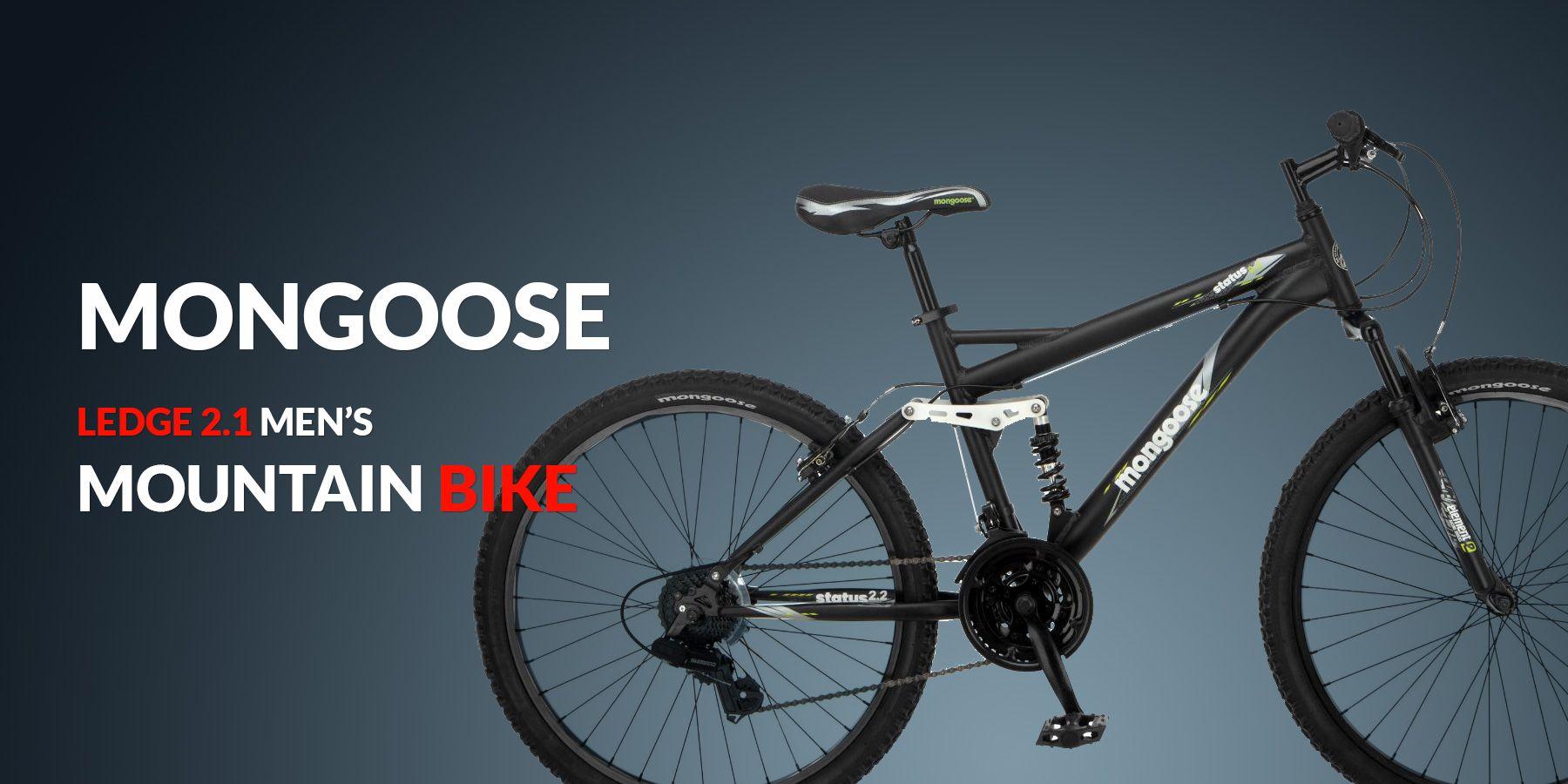 26 Wheel Mongoose Ledge 2 1 Men S Mountain Bike Mountain Bike