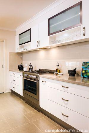 best splash backs for shitake caesarstone kitchen benchtops - Google Search