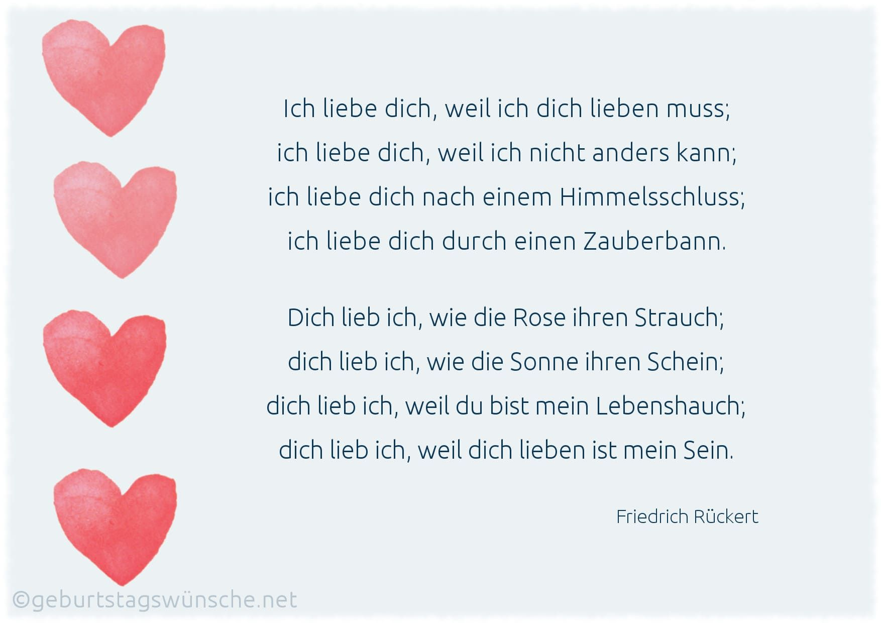 Liebesgedichte Entdecke romantische Verse über die Liebe. | Lustige geburtstagswünsche