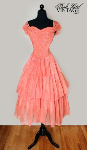 1940 Party Dress - Ocodea.com