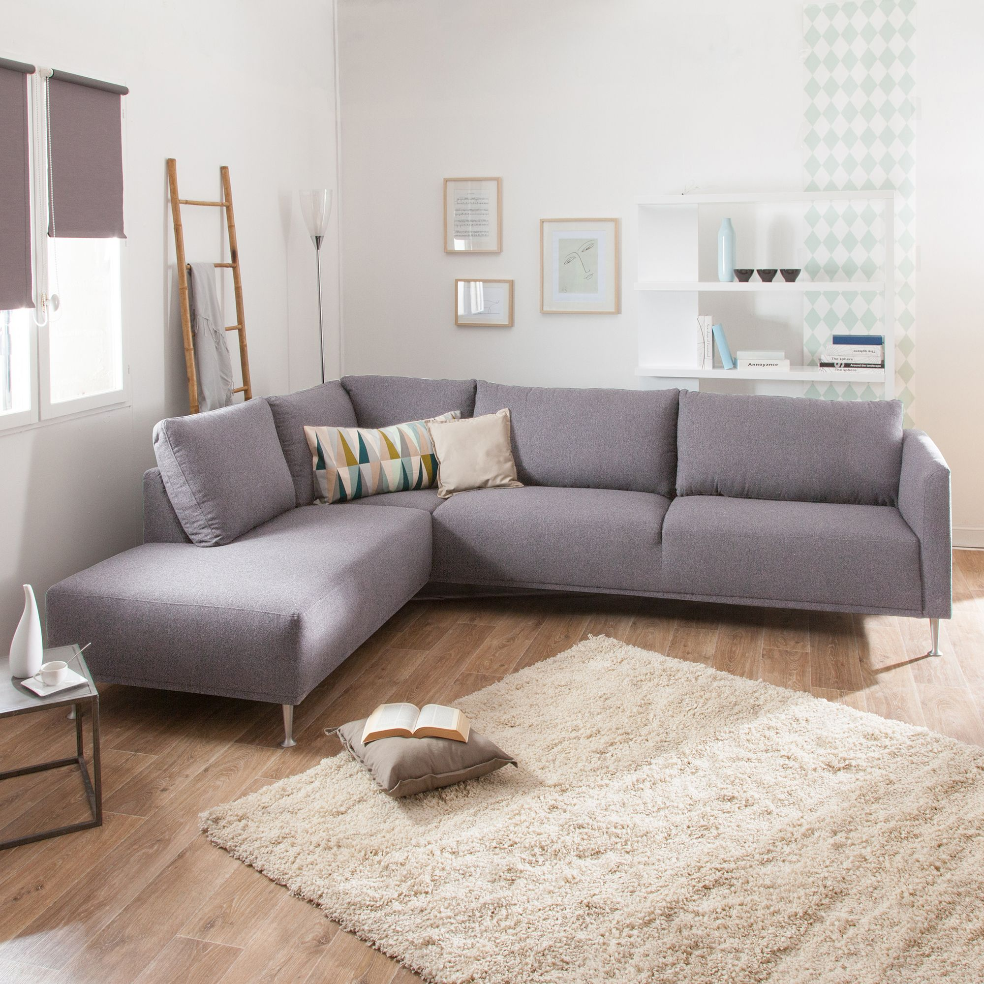 Canape D Angle En Tissu Dossier Dehoussable Olympe Canape Angle