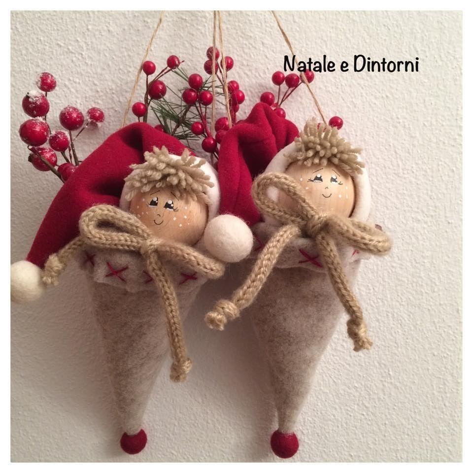 Resultado de imagen de pinterest natale feltro navidad christmas christmas ornaments y - Pinterest natale ...