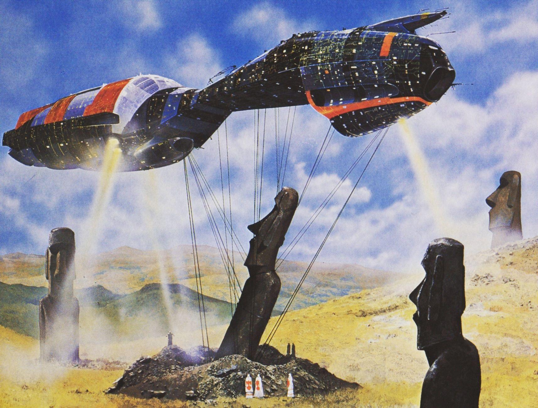 Some Retro Sci Fi Wallpaper