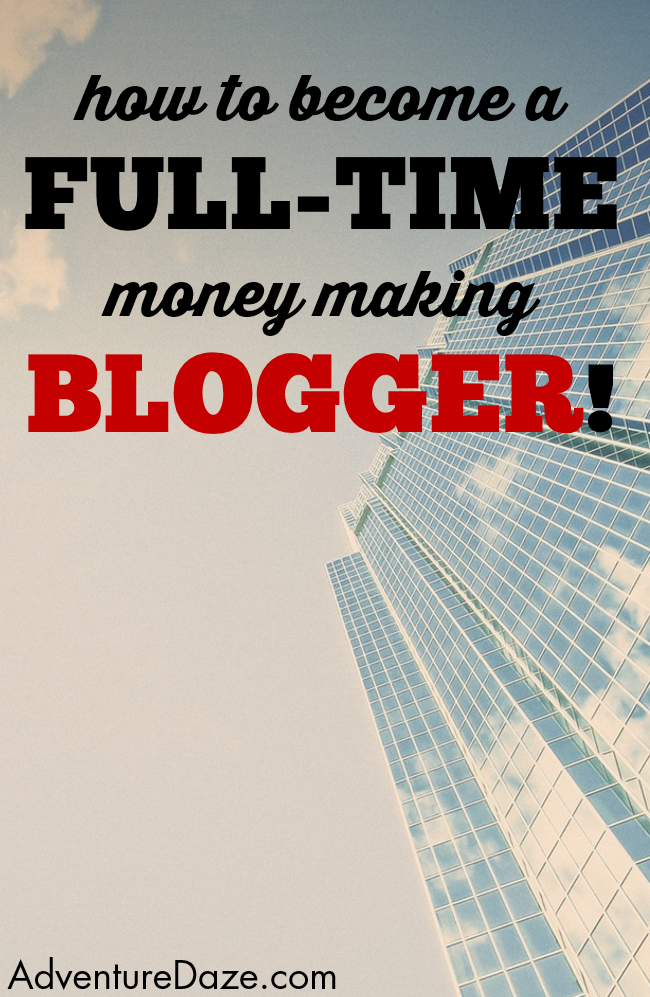 In this amazing article you learn exactly how to make money as a full-time blogger and do what you love every day as your own boss!