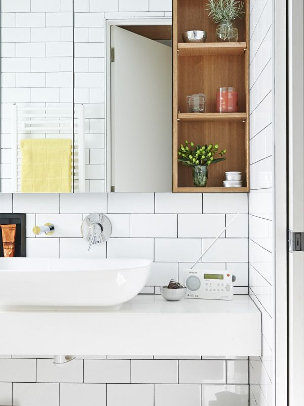 The Melbourne home of Bill and Christine McCorkell and their family - Meuble Avec Miroir Pour Salle De Bain