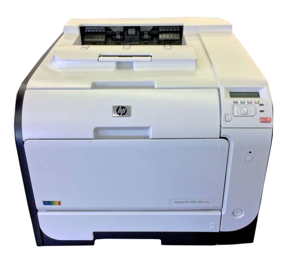Hp Laserjet Pro 400 M451dw Color Wireless Photo Printer Ce958a Hp Printer Laser Printer Photo Printer