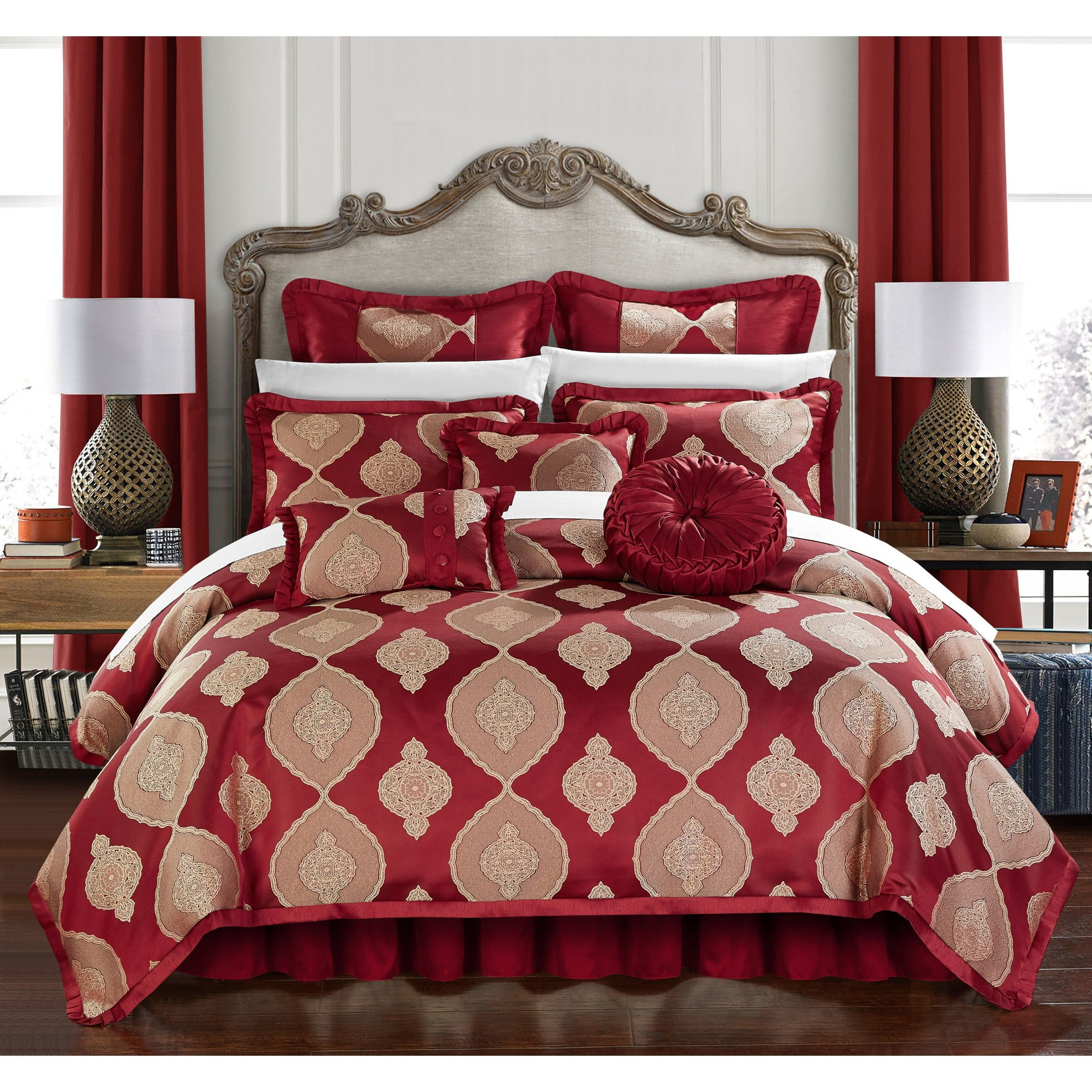 bed home set reviews bath pdx piece florentina chic comforter wayfair