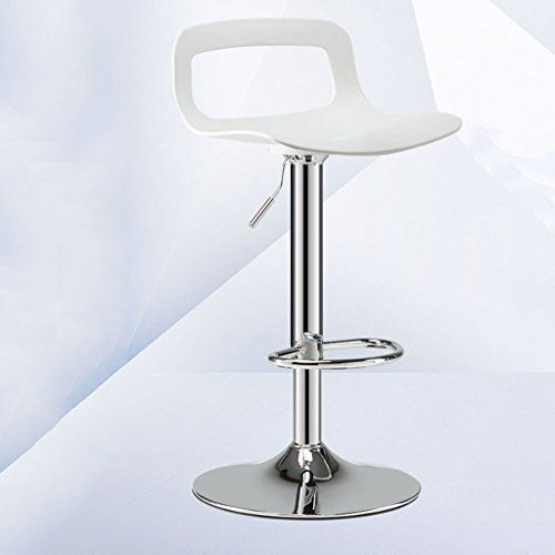 Retro Design Lifting Swivel Bar Chair Rotating Adjustable Height Pub Bar Stool Chair Footrest Pu Material Reception Cadeira Furniture Bar Chairs