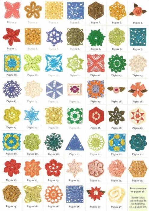 patroontjes | Crochet·terapia | Pinterest | Flores de ganchillo ...