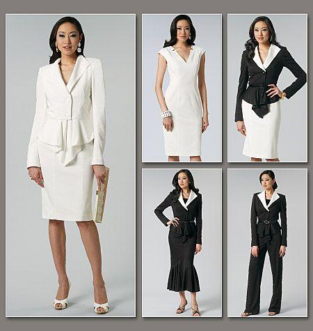 Jacket Dresses For Misses - Pl Jackets