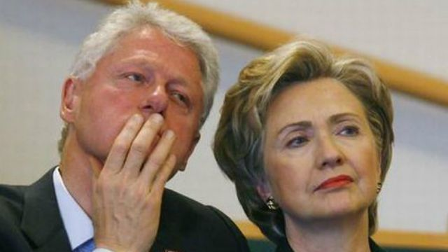 Hillary Clinton Considered Selecting Husband Bill as her VP Running Mate. Good thing the constitution prevents it. In unison, everyone - NO WAY!