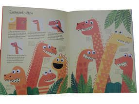 Dino World - Knutselboek om dingen te maken en te doen met dino's ...