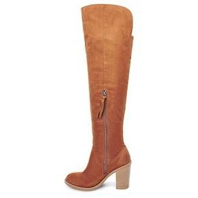 49ce640c8d9 Women s dv Marilyn Over the Knee Fashion Boots - Saddle Brown 5.5   Target