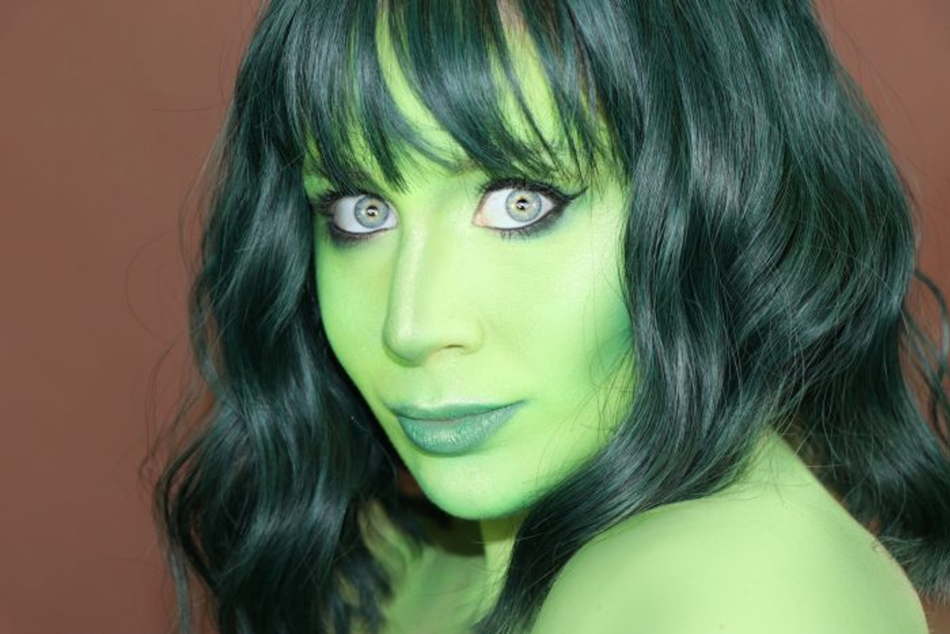 She Hulk Makeup Tutorial Marvel Cosplay 2020 Lillee Jean In 2020 She Hulk Transformation Shehulk Marvel Cosplay