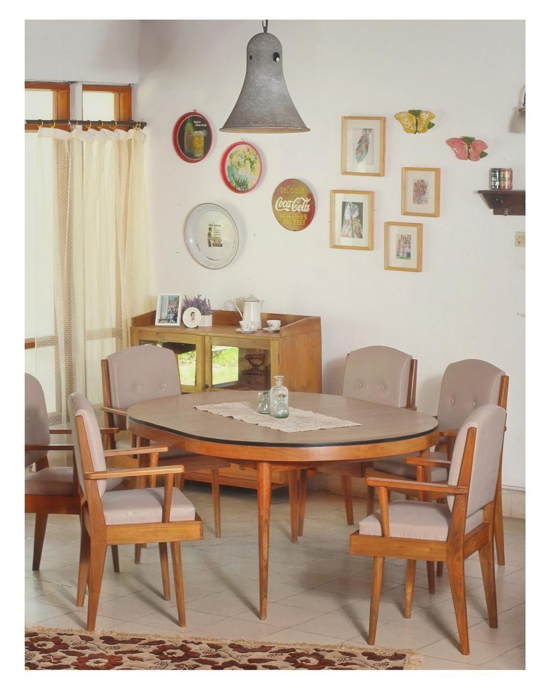 Ruang Tamu Minimalis Bergaya Klasik Furniture Vintage