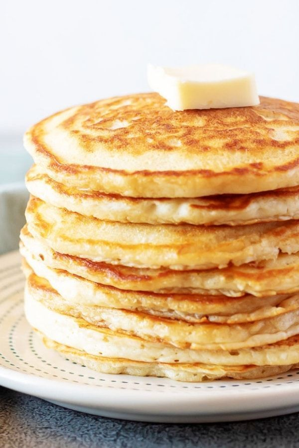 Fluffy American Pancakes Recipe Savoury Cake American Pancakes Waffle Recipes