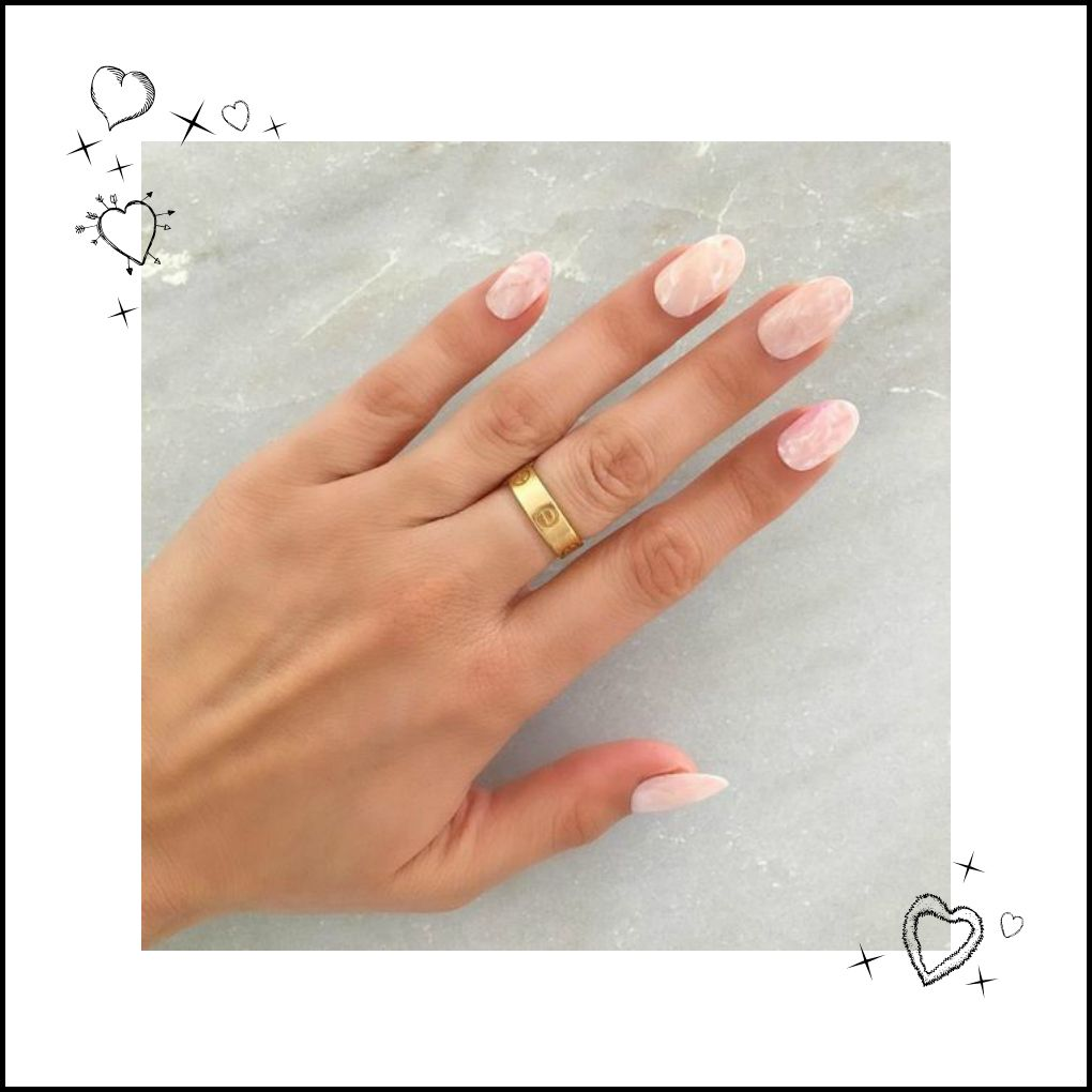 New trend alert: Quartz nail art | BEAUTY | Pinterest | Quartz nail ...