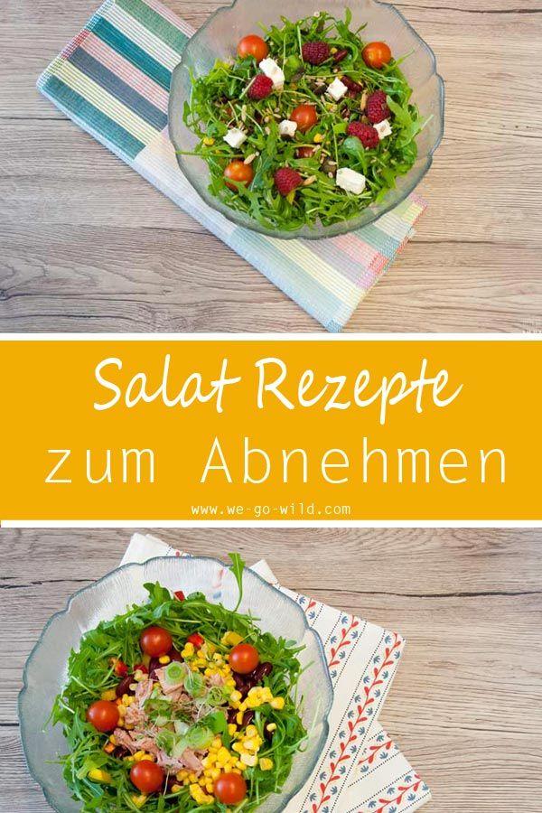9 Schnelle Und Leichte Salat Rezepte Zum Abnehmen | Kalte Küche | Pinterest