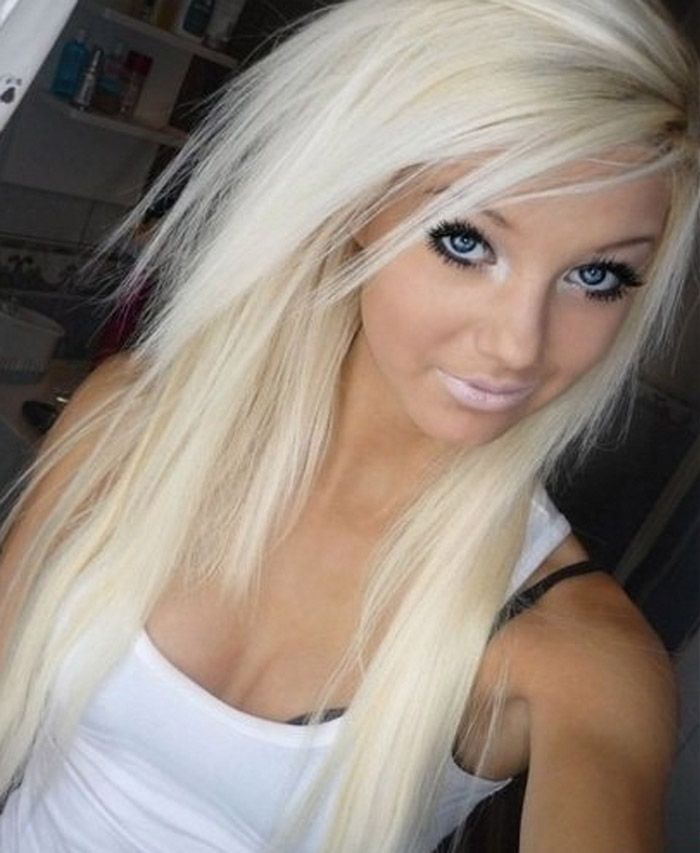 Platinum Blonde Hair With Purple Underneath Google