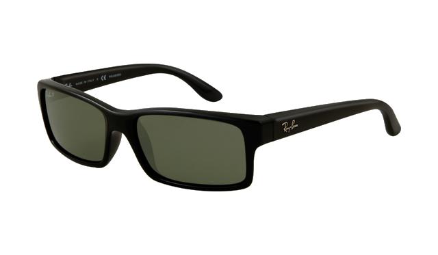 Sunglasses Green Black Crystal Le Polarized Ray Rb4151 Frame Ban mwNn08