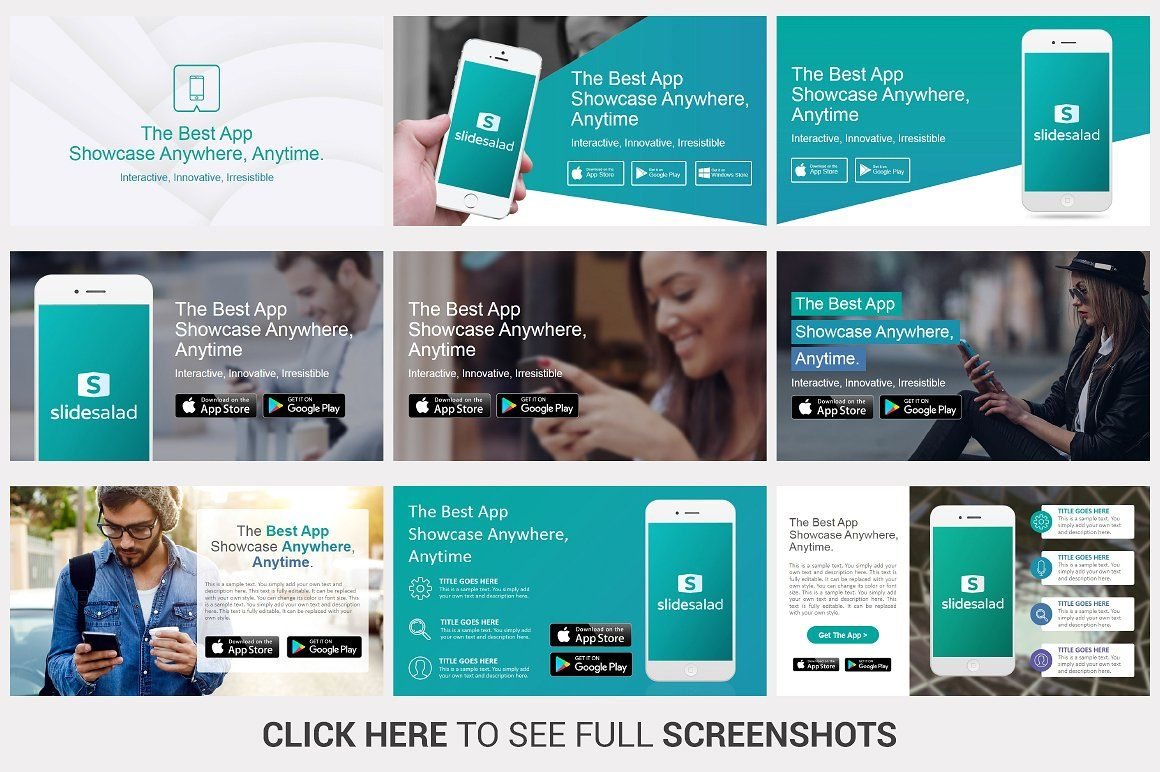 Mobile Apps Powerpoint Template Powerpoint Templates Effective Powerpoint Presentations Mobile App