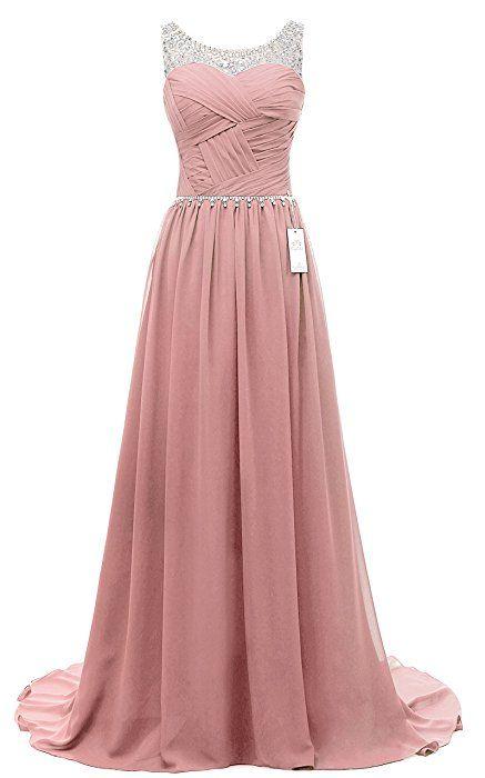 Eudolah Damen Abendkleider Elegant Ballkleider lang Maxi ...