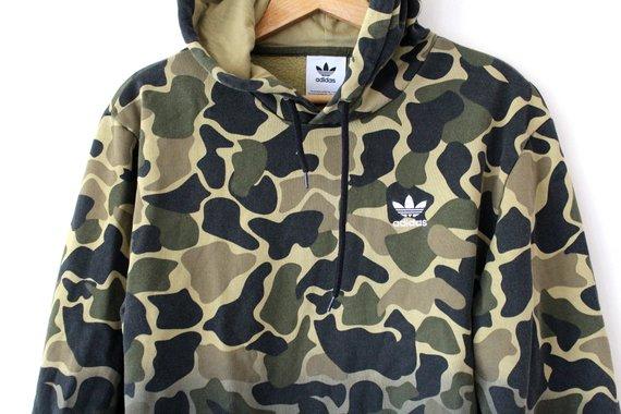 d3d4baf5e1f5 Camo ADIDAS Sweatshirt
