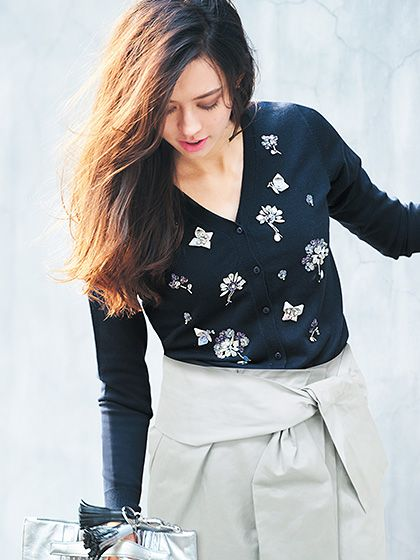 Chesty e-boutique : Spangle Bijou Cardigan
