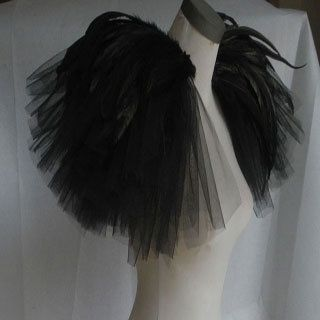 tulle shoulder epaulet - Google Search