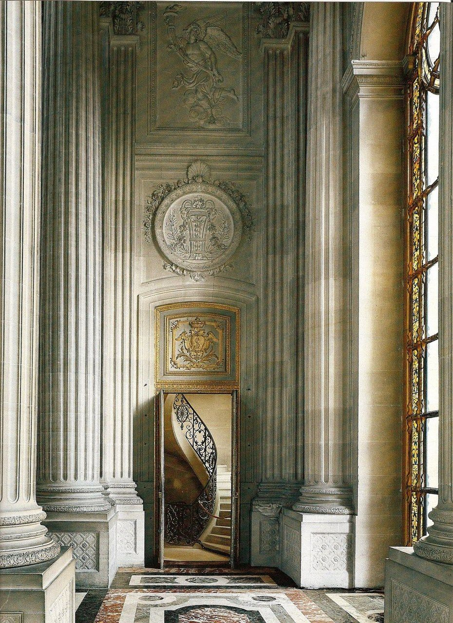 Transom Windows A Useful Design Element: Neoclassical Design Elements In Force In Versailles