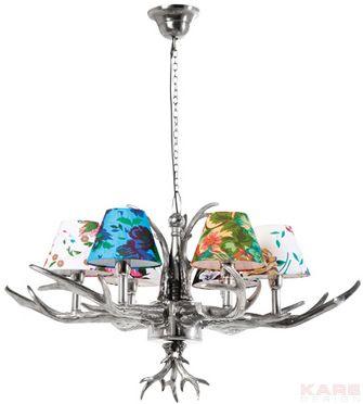 Lámpara+De+Suspención+Antler+Flowers+6+Lámparas