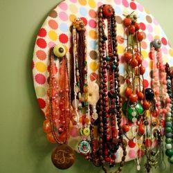 DIY Necklace Holder & Tutorial