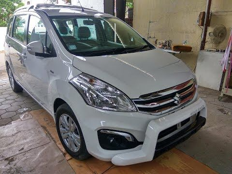 New 2016 Ertiga Modified With Black Interior And Two Tone Paint