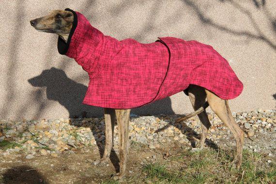 Vacht van de Greyhound windhond kleding van GraceEmilyShop op Etsy